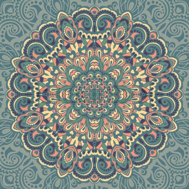 Mandala Vektor Sternen Vektorgrafik Colourbox