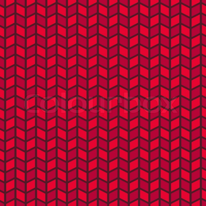Passionate vector seamless pattern (tiling). Hot red color. Endless ...