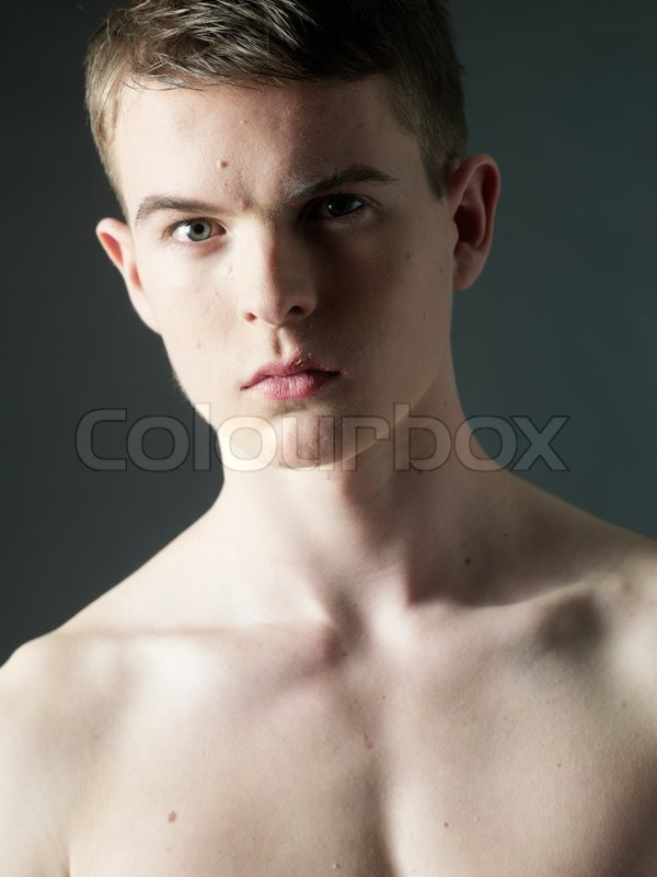 Young Boy Shirtless  Stock Photo  Colourbox-5748