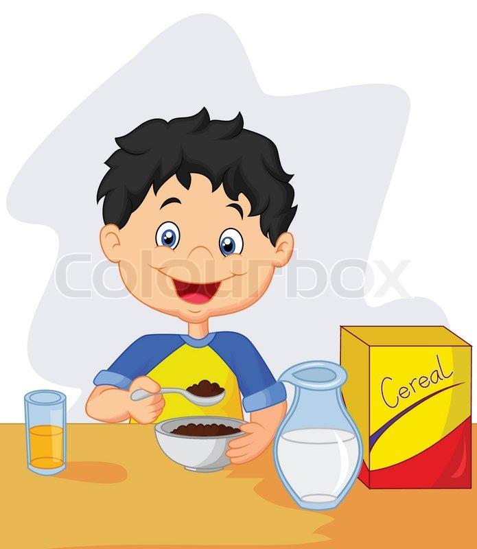 Cartoon Eating ...