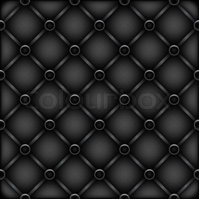 The Black Leather Furniture Dark Mesh Stock Vector