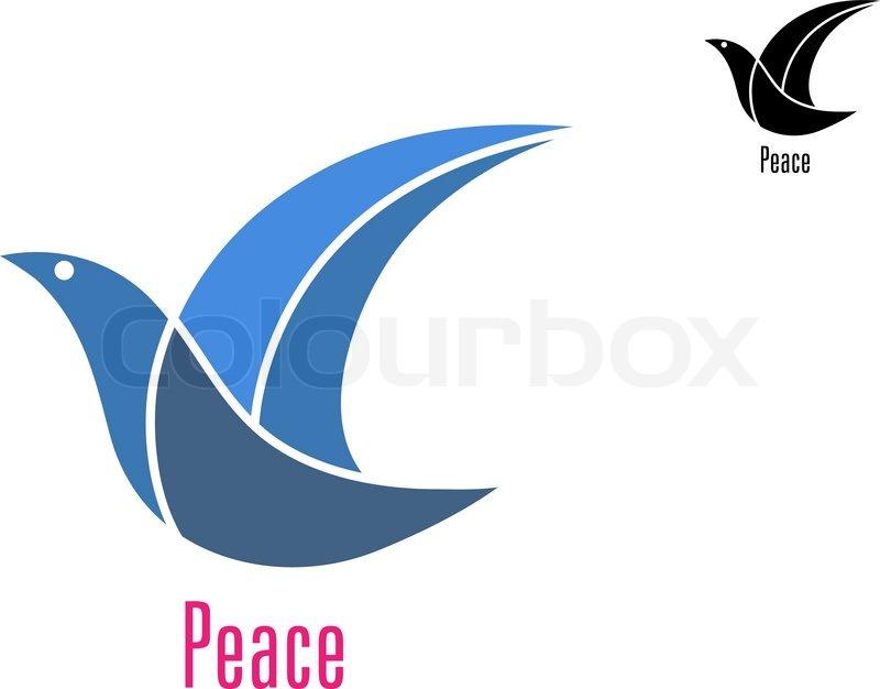 Dove bird peace sign - photo#43