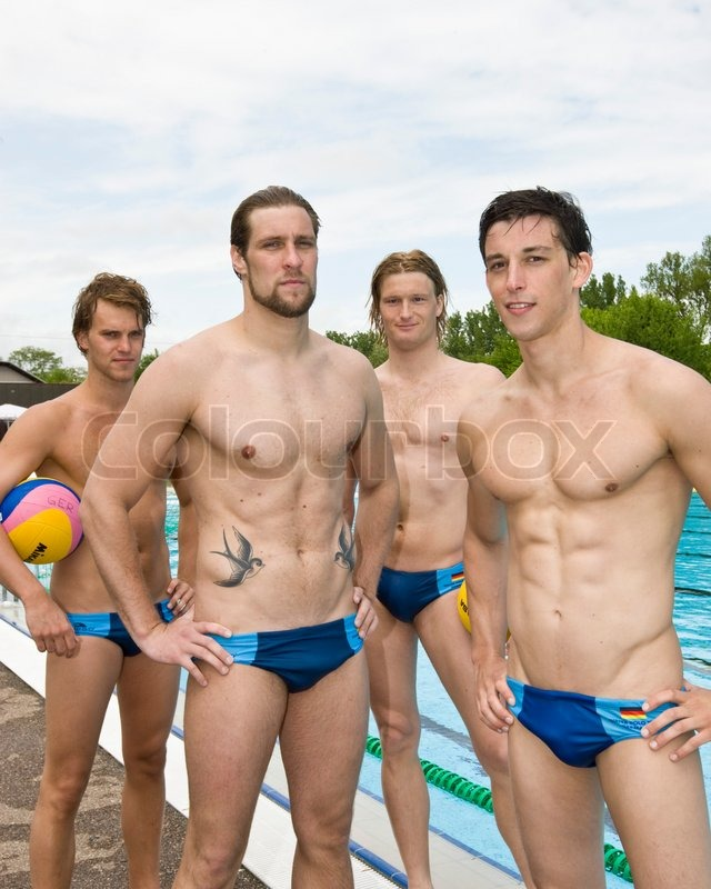 from Jalen naked men playing water polo