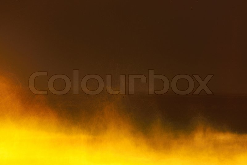 Night sea water close up. Top view, stock photo