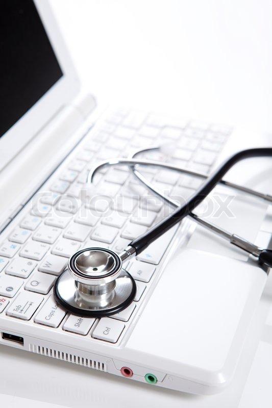 Stock foto af 'læge, sundhed, computere'
