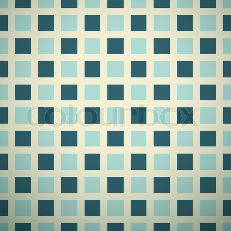 Elegant vector pattern (tiling). Retro blue and white colors ...