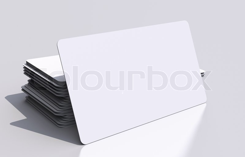 White blank business cards mockup rounded corners 3d business cards stock image of white blank business cards mockup rounded corners 3d business cards illustration reheart