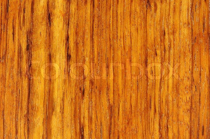 Polished Teak Wood Texture As A Stock Image Colourbox