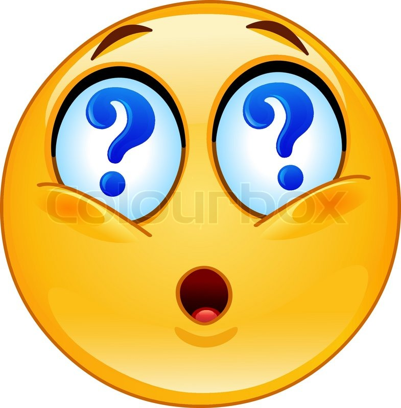 Emoticon with question...