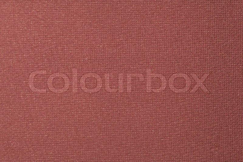 Brown eyeshadow makeup background, closeup, stock photo