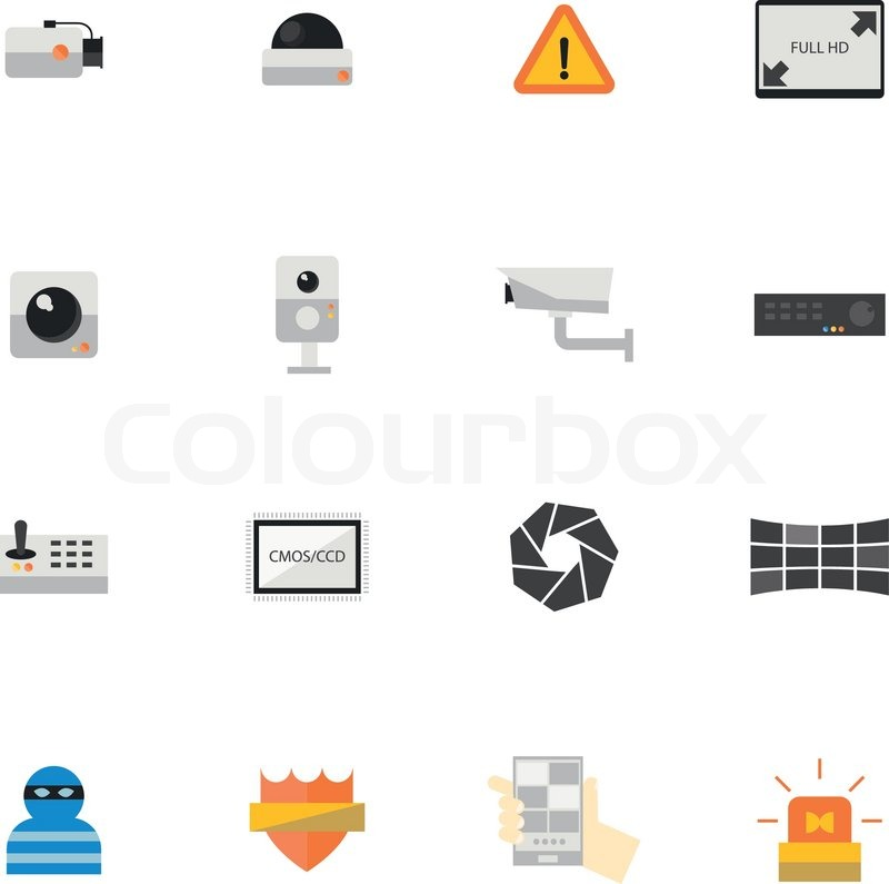 Security Camera Icon Security Camera or Cctv Icon