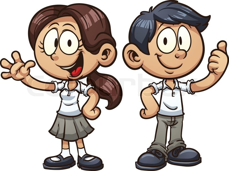 Image result for clip art school uniform