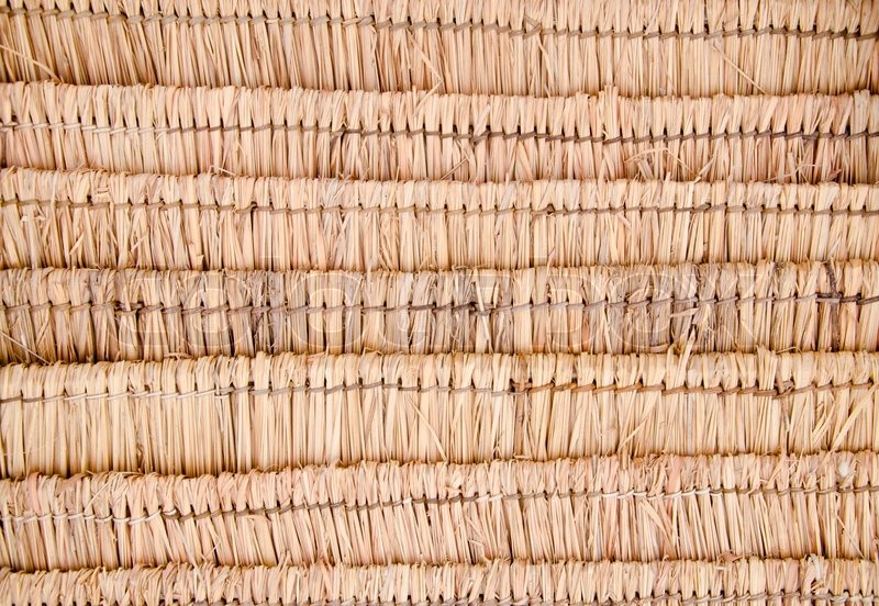 Roof Dry Grass Pattern Background Stock Photo Colourbox