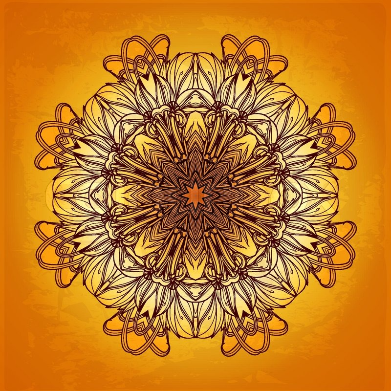 Islamic Book Cover Design Vector ~ Abstract vector frame background floral border