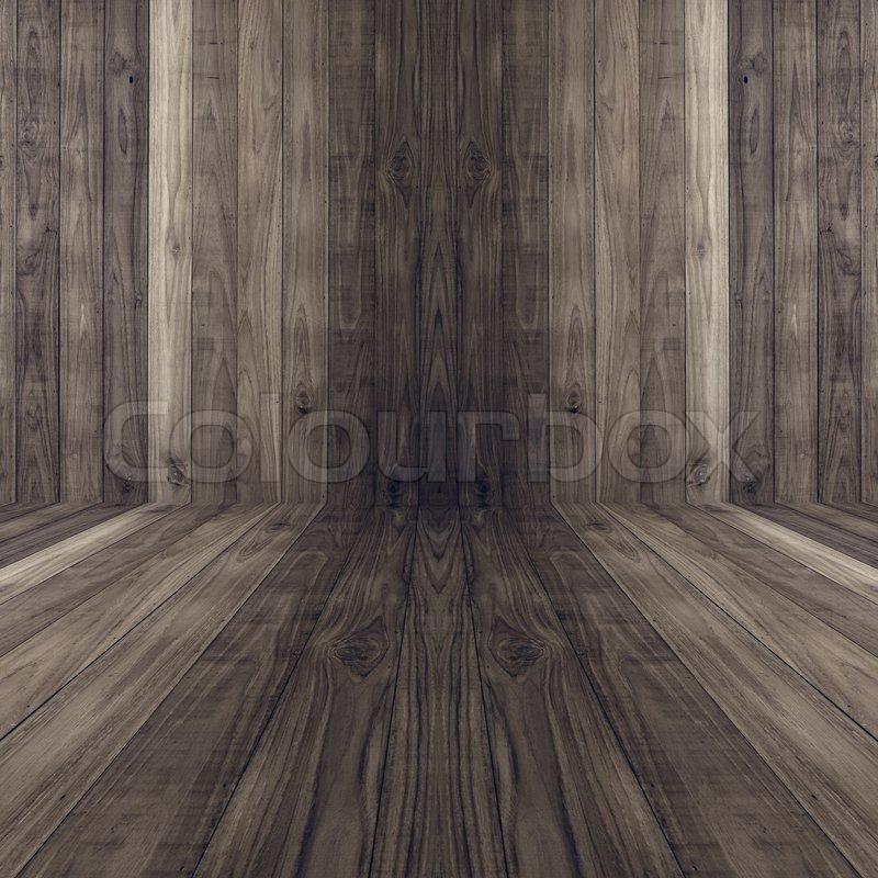 Dunklen Boden Holz Plank Wand Textur Stockfoto Colourbox