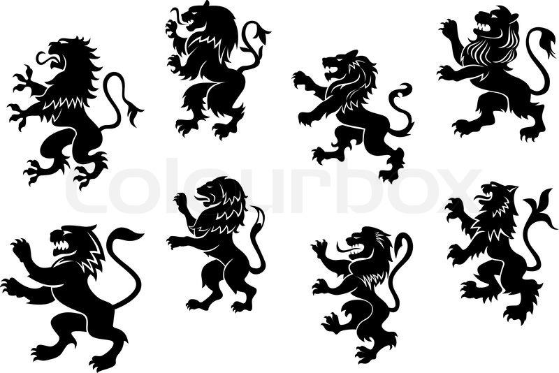 Black Lion Logo Design