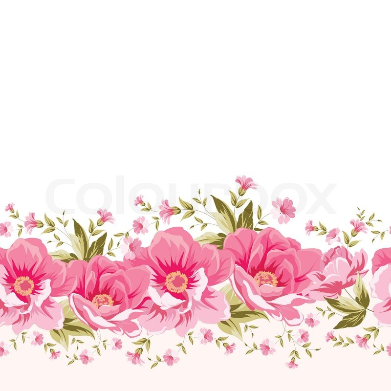 Ornate pink flower decoration with text label elegant vintage ornate pink flower decoration with text label elegant vintage greeting card design illustration stock photo colourbox mightylinksfo