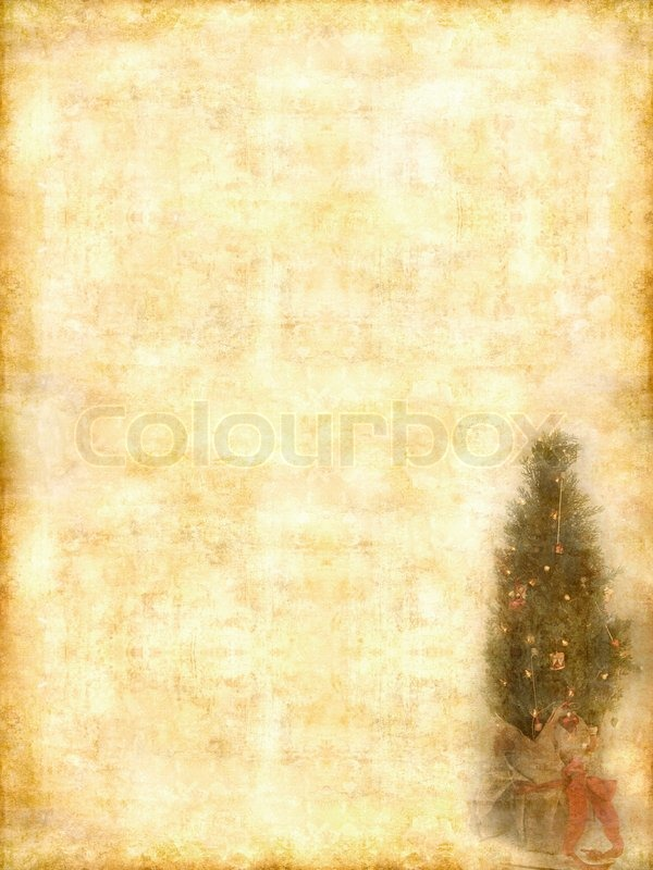 Stock image of 'Retro greeting card with copyspace for text on grunge background.'