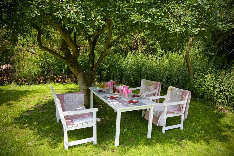 Buy Stock Photos Of Furniture Colourbox - Summer furniture