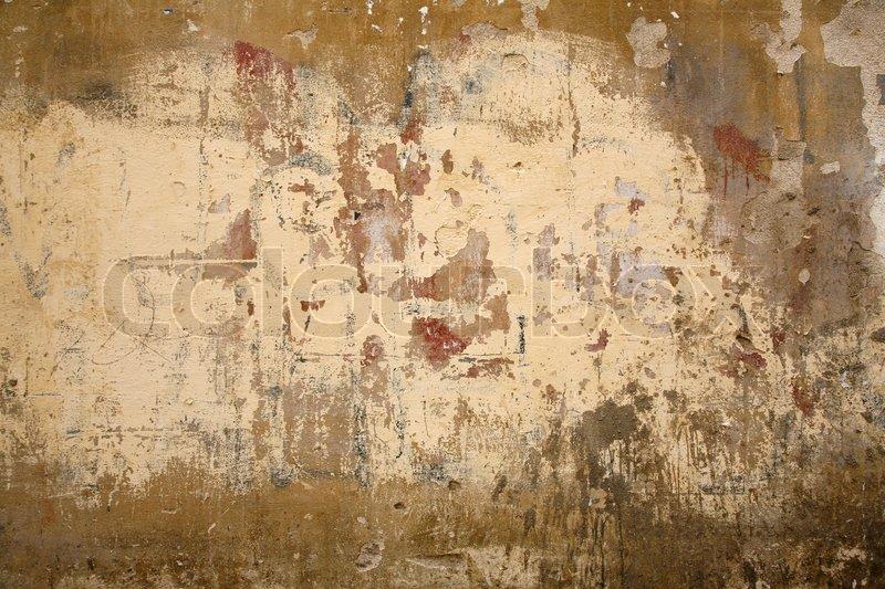 Nice Italian wall found in Siena -Tuscany - Italy. | Stock Photo ...