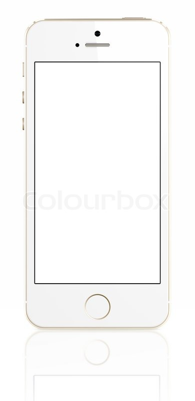 iphone blank screen nethinde telefon global stock foto colourbox 11653
