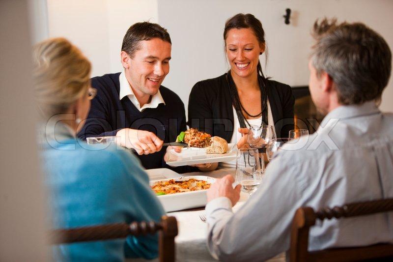 middag med venner