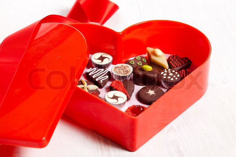 Stock image of 'sweets, love, chocolate'