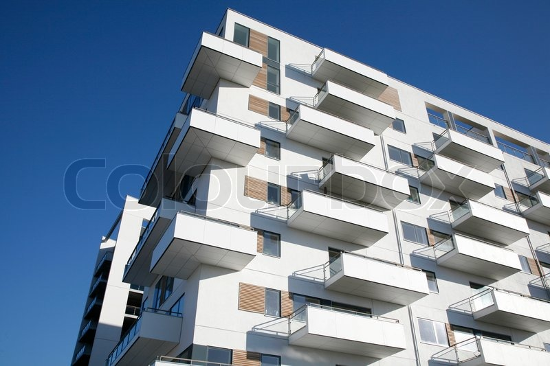 Waterfront Appartment Building Odense Denmark Stock Photo Colourbox