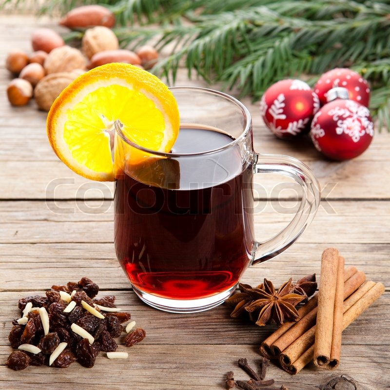 Stock image of 'christmas, drink, mulled wine'