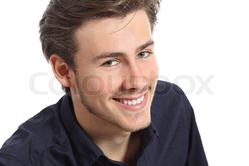 Gesicht Mann Attraktiv Attraktiver Mann Gesicht