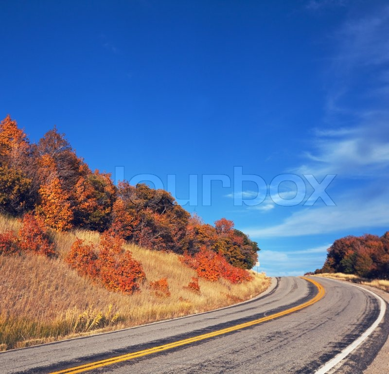 road in mountains stock photo colourbox