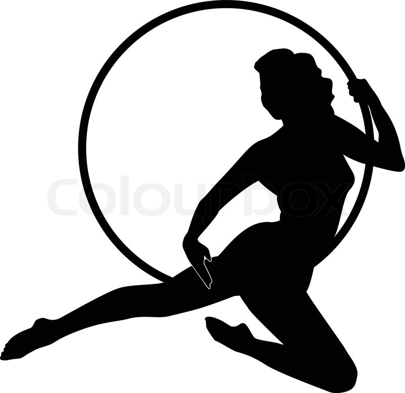 Gymnast Stock Vector Colourbox