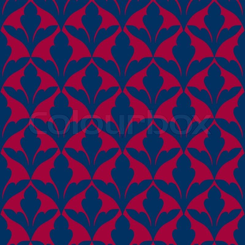 damaris sch nen hintergrund mit reichen blau und rot luxus ornamente altmodische nahtlose. Black Bedroom Furniture Sets. Home Design Ideas