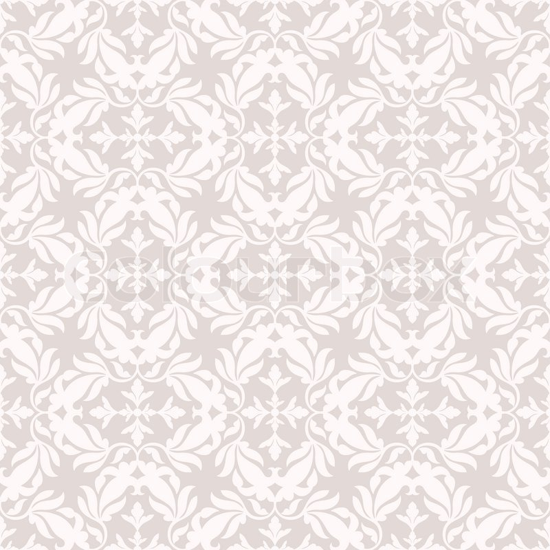 Damask Beautiful Background With Rich Old Style Pink