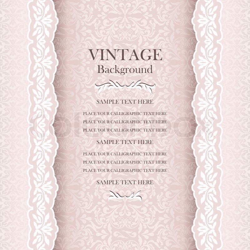 Vintage wedding background, elegance antique, victorian, floral ...