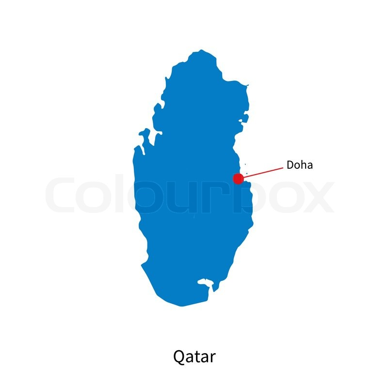 Detailed vector map of Qatar and ... | Stock vector | Colourbox on tanzania map, united arab emirates map, al udeid air base, middle east map, dead sea map, bahrain map, doha corniche, qatar airways, dushanbe map, qatar map, riyadh map, sana'a map, al jazeera, ankara map, kuwait map, abu dhabi, education city, world map, abu dhabi map, manama map, dubai map, mosul map, medina map, kuwait city, doha international airport, damascus map, jerusalem map, souq waqif, baghdad map, aspire tower,