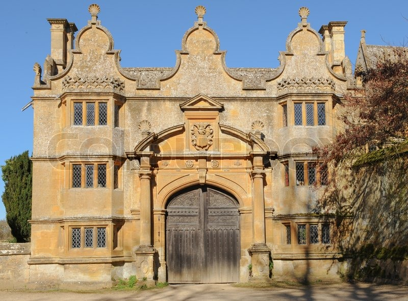 Gatehouse To Stanway House A Jacobean Manor House In The