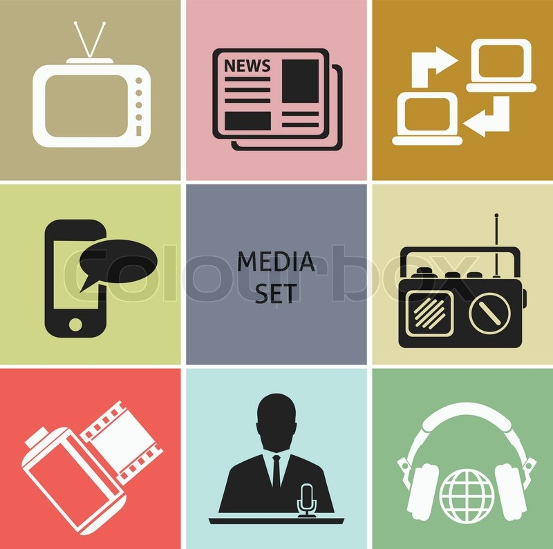 Image result for medien symbol