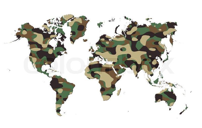 Welt - Armee Camo Muster   Stockfoto   Colourbox