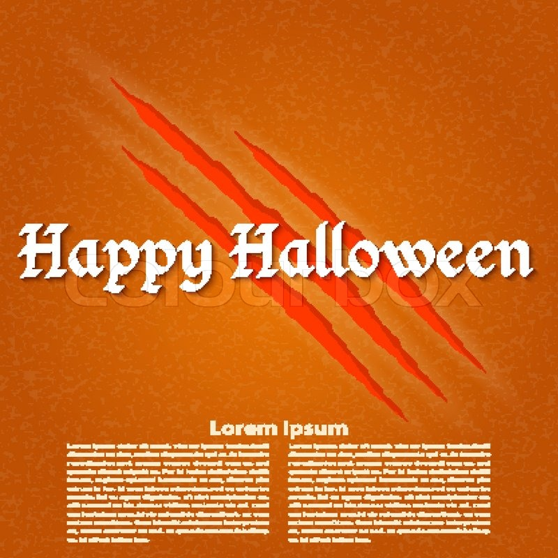 Wallpapers for the holiday Halloween. Vector illustration, vector