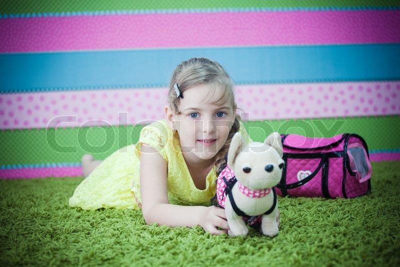 Girl teens on toys — img 1