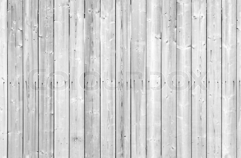 Seamless Background Texture Of White Painted Wooden Wall | Stock Photo |  Colourbox