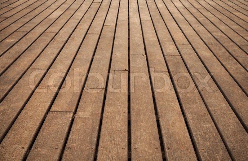 Old wooden floor perspective  Background photo texture  stock photo. Old wooden floor perspective  Background photo texture   Stock