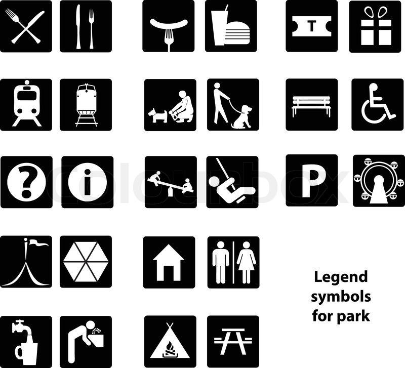 Legend symbol
