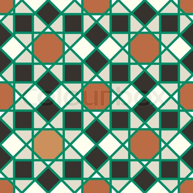 Abstract Geometric Background Modern Seamless Pattern