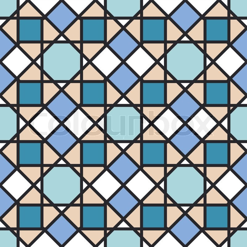 Abstract Geometric Background Modern Stock Vector