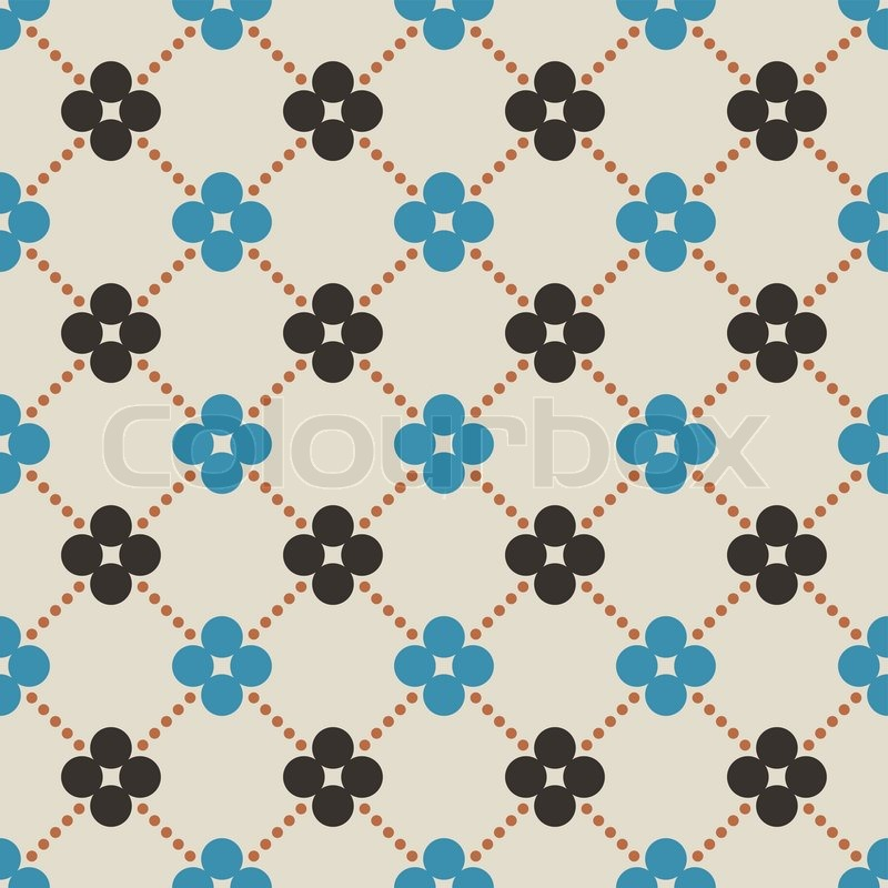 Baby And Kids Style Abstract Geometric Background Cute