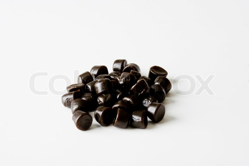 Stock image of 'Bunch of licorice'