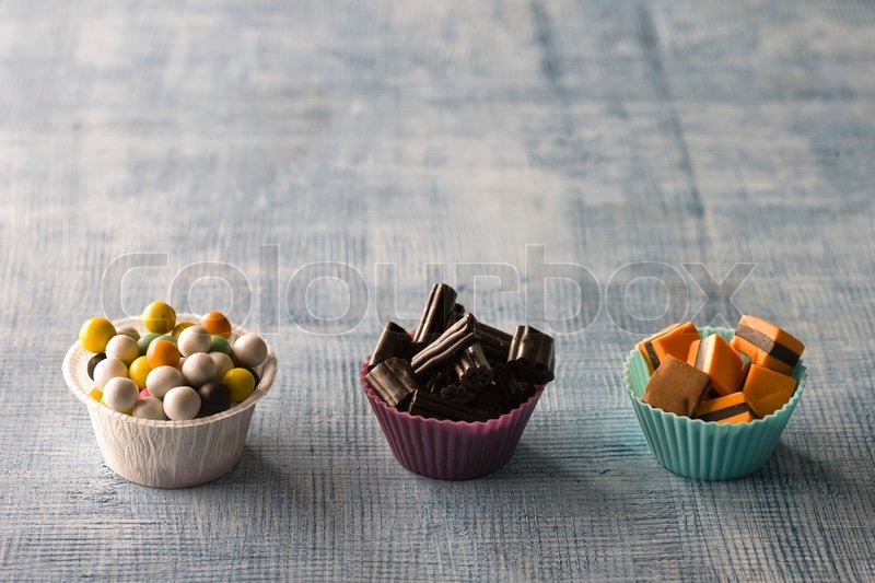 Stock image of 'Selection of sweets'