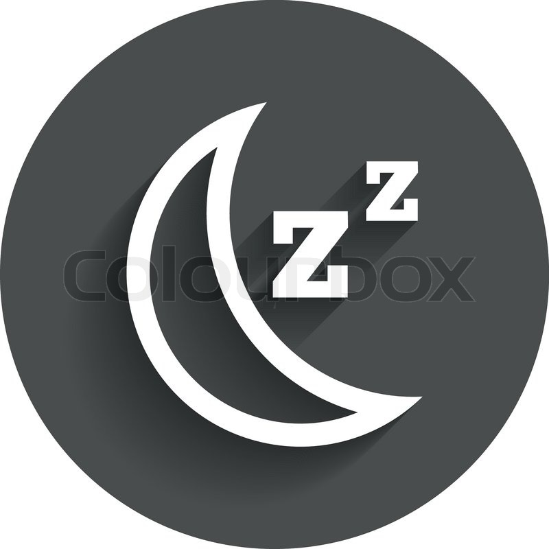 Computer Sleep Icon Sleep Sign Icon